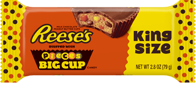 Reeses Big Cup Stuffed With Pieces King Size Bars