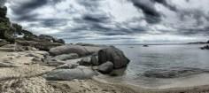 Selbst bei etwas trübem Wetter besitzt die Costa Brava noch eine beeindruckende Schönheit