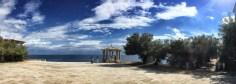 Der Küstenwanderweg bei S'Agaró überrascht mit prachtvollen Villen und dieser gerne für Hochzeitsfotos genutzten Freitreppe, die nach dem katalanischen Architekten Rafael Masó i Valentí benannt ist.