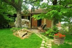 appartamento vacanza in campagna in villa