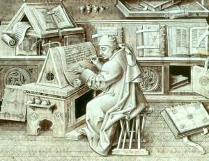 amanuense medievale