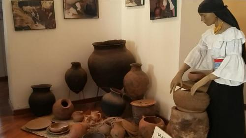 Pottery display