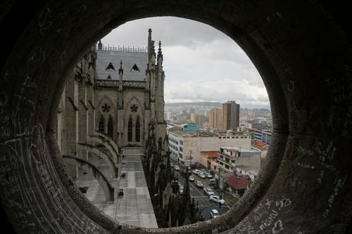View from Basilica del Voto Nacional
