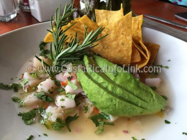 Marlin Ceviche - Snapper's House Seafood Restaurant, La Fortuna, San Carlos, Alajuela, Costa Rica