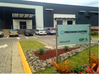 Precision Coating launching Costa Rica plant