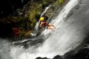 El Encanto Waterfall Rappel Tour