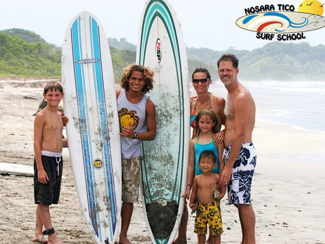 Nosara Tico Surf School 2