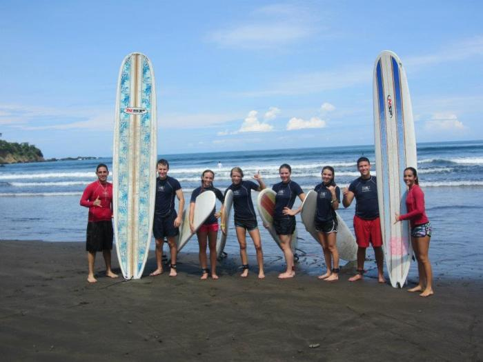 Dominical Surf Lessons with Debbie 1
