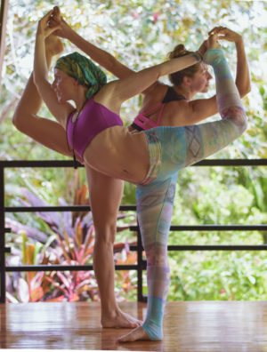 Women-practicing-Yoga