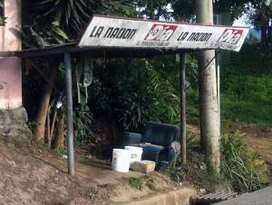 Costa Rica Luxury Bus Stop