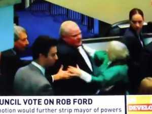 Mayor Rob Ford video 1