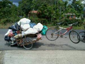 Towing this is Slow Going