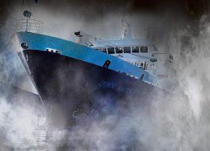 Lyubov Orlova ghost ship 1