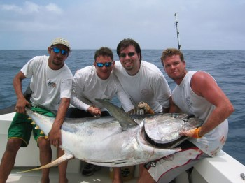costa rica fishing bachelor party