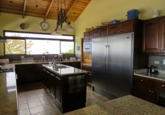 Gourmet Ocean View Kitchen
