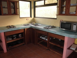 bright, fun kitchen in 1 BR home and lot for sale in san ramon costa rica
