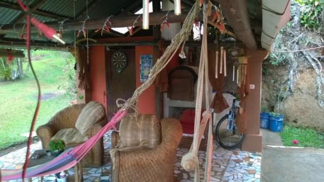 Main house gazebo