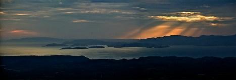 God Rays sunset