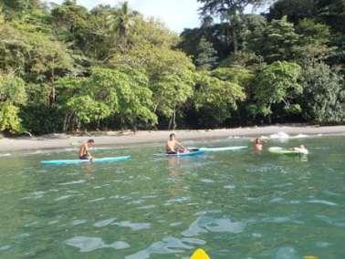 costa rica jaco kayaking