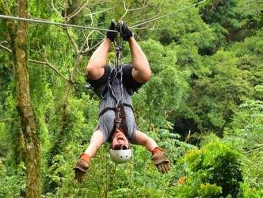 costa rica zip-line canopy tour