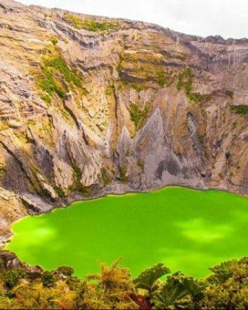 Irazu Volcano Cartago City  Orosi Valley Ujarras Valley