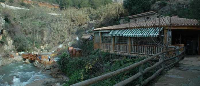 Las fuentes del Algar restaurante