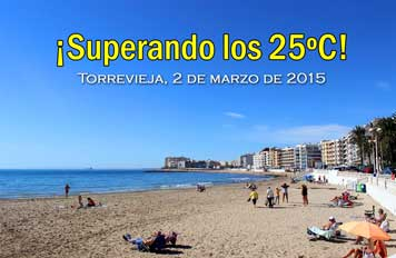 Torrevieja Summer Weather