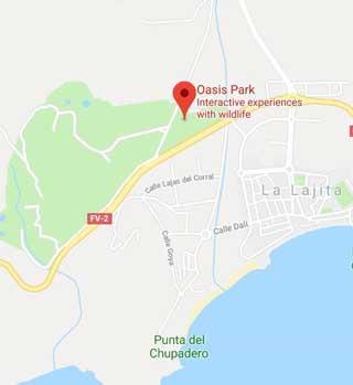 Oasis Park Mapa