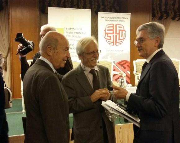 Παρέμβαση Κώστα Σημίτη σε Διεθνές Συνέδριο για την προσφυγική κρίση