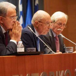 Εκδήλωση του Ιδρύματος Κωνσταντίνου Σημίτη με θέμα: «Ευρώπη σήμερα, Ευρώπη αύριο» με τους R. Prodi, Κ. Σημίτη & Π. Ιωακειμίδη