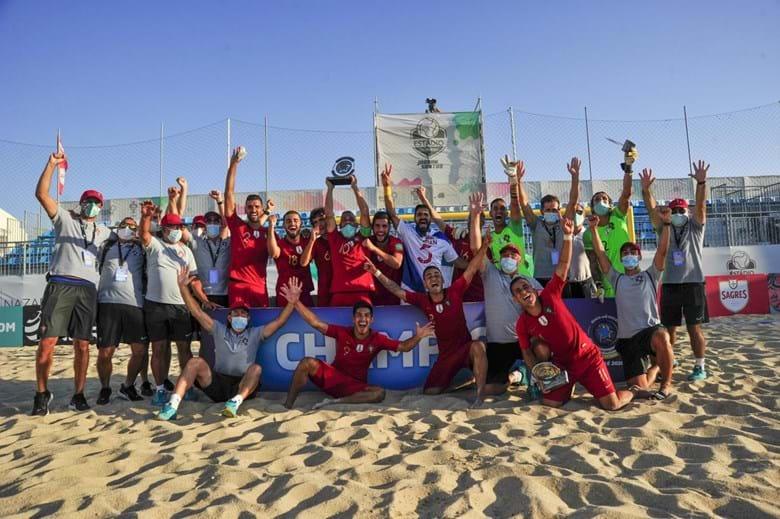 Portugal Bicampeão Europeu de Futebol de Praia