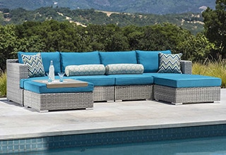 Patio Furniture   Costco Patio Furniture Collections  Seating Sets