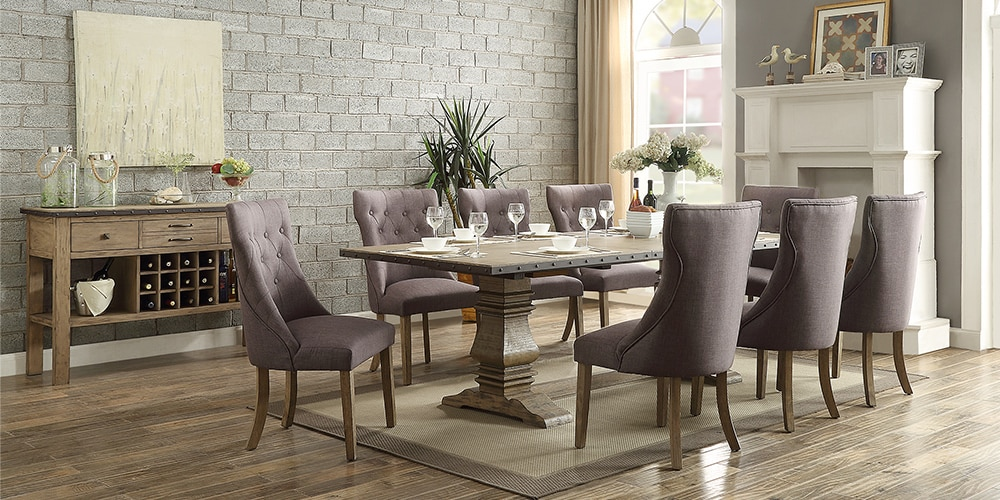 Image Result For Farmhouse Dining Room Table
