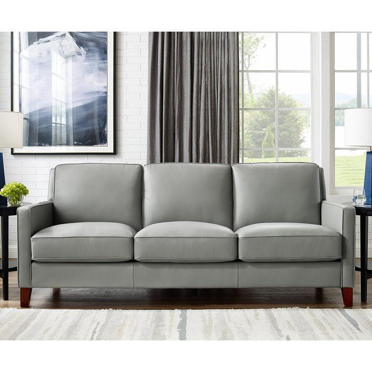 صوت الرعد العادي سلم grey leather sofa