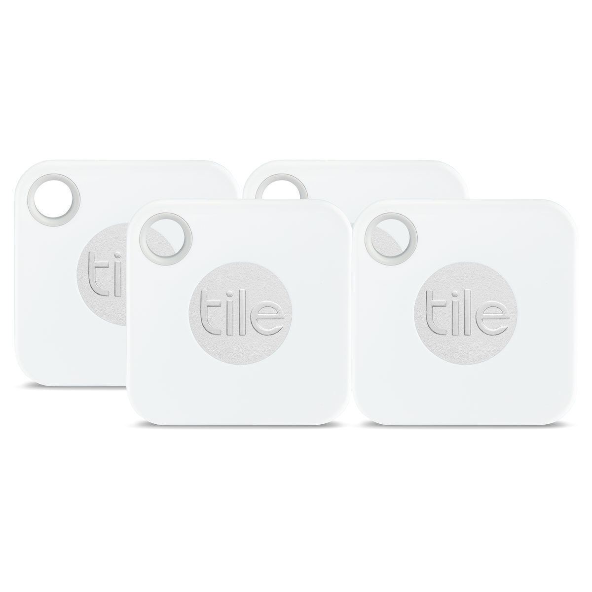tile mate bluetooth tracker 4 pack in white costco uk