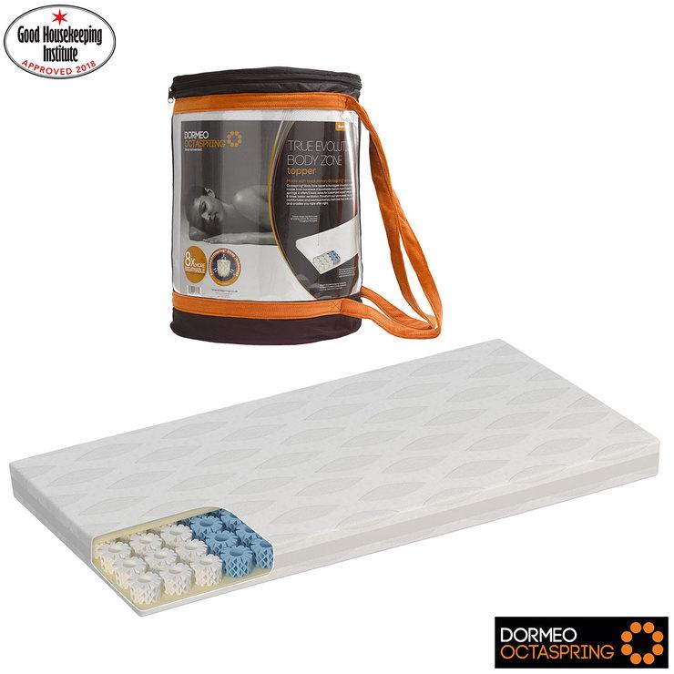 dormeo octaspring body zone mattress topper double costco uk