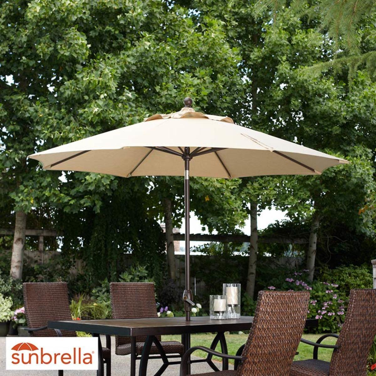 activa 9ft 2 74m umbrella in 2 colours costco uk