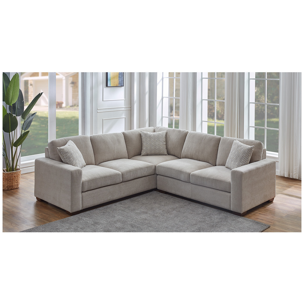 synergy home furnishings fabric sectional