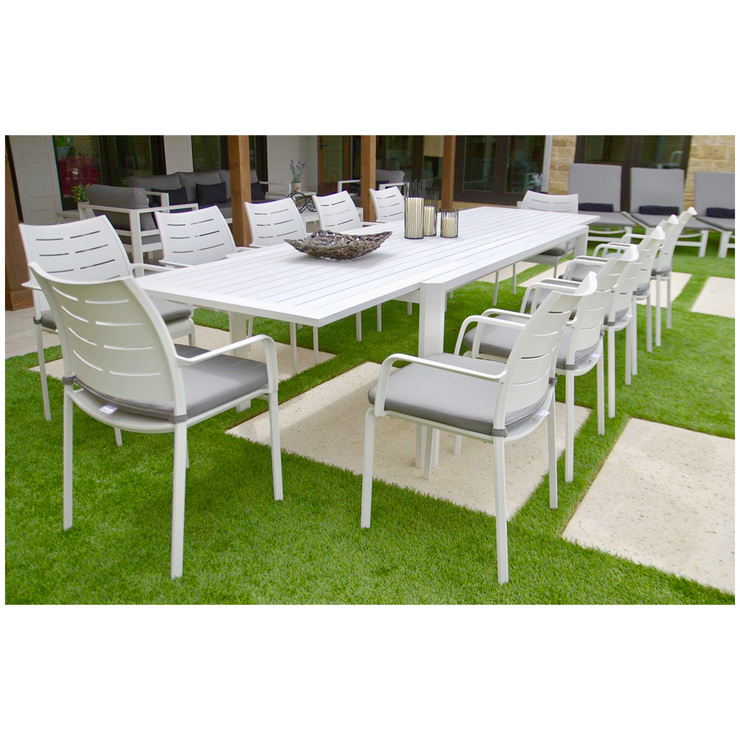 st kitts 13 piece outdoor dining set