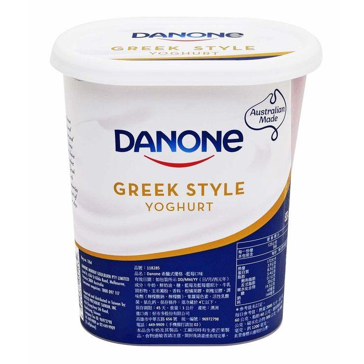 DANONE 藍莓希臘式優格 1KG   Costco 好市多線上購物
