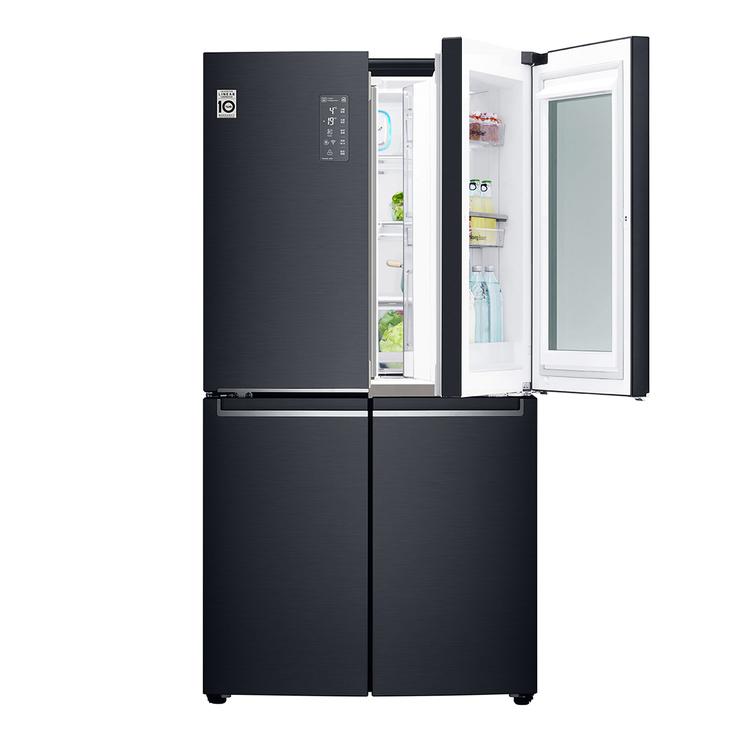 LG InstaView 870 公升法式門中門冰箱 GR-QBF87MB | Costco 好市多線上購物
