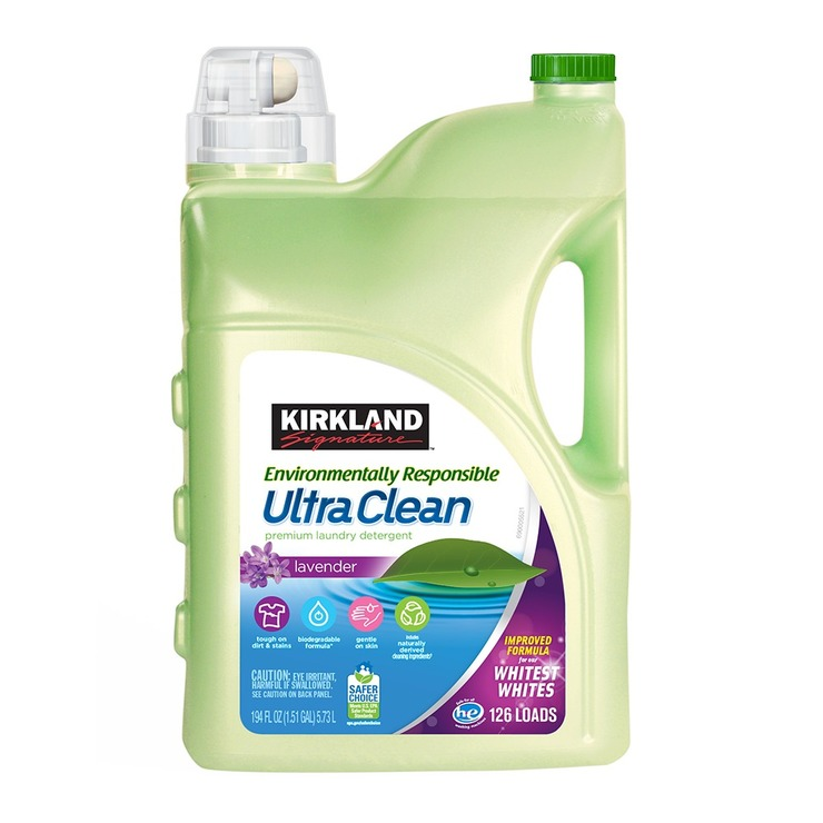 Kirkland Signature 科克蘭 超濃縮環保洗衣精 5.73公升 | Costco 好市多線上購物