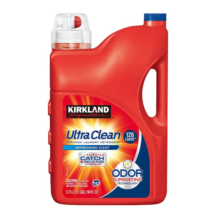 Kirkland Signature 科克蘭 超濃縮洗衣精 5.73公升 | Costco 好市多線上購物