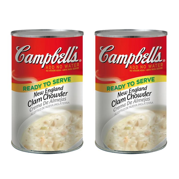 Campbell's 金寶 新英倫蛤蜊濃湯 1.41公斤 X 2入/組   Costco 好市多線上購物