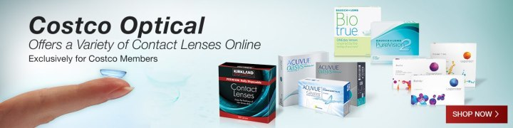 Costco Optical Offers A Variety Of Contact Lenses Exclusively For Members