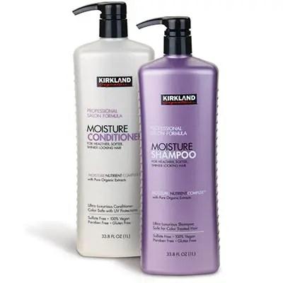 Kirkland Signature Moisture Shampoo And Conditioner Review