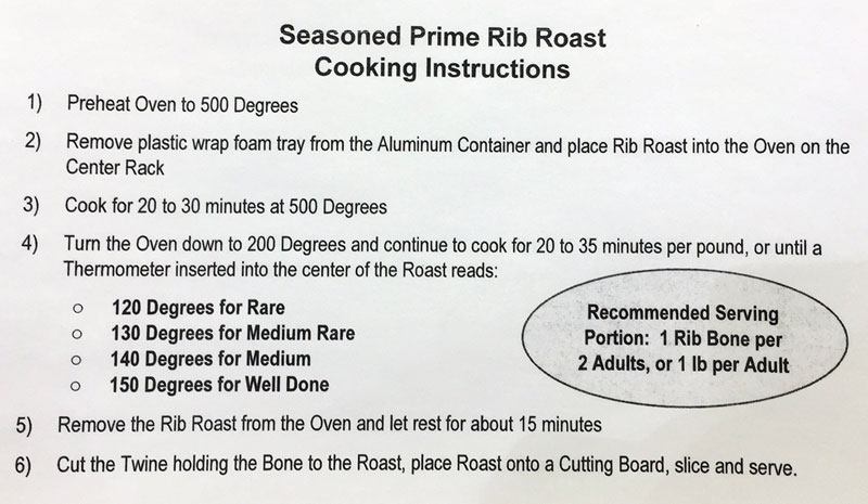 Costco Prime Rib Roast   Costco Insider