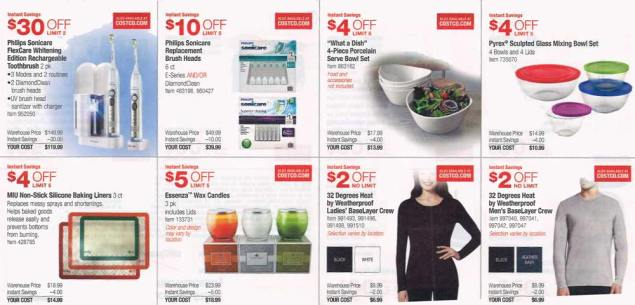 November 2015 Costco Coupon Book Page 4