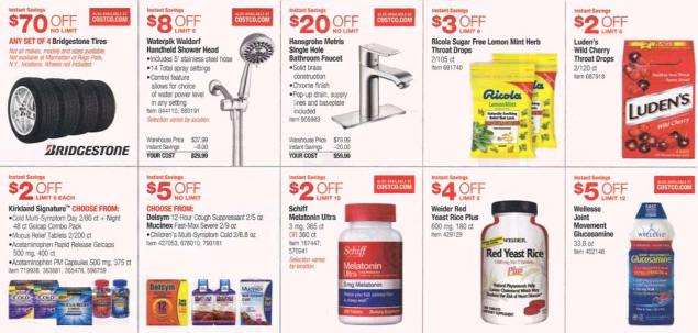 November 2015 Costco Coupon Book Page 6