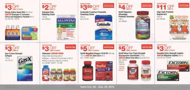 November 2015 Costco Coupon Book Page 7